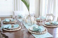 Minimaliste et sans prétention, une déco table pour recevoir des invités en toute simplicité