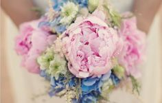 Decoracão de Casamento Paleta de Cores Azul e Rosa | Blog de Casamento DIY da Maria Fernanda