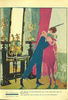 Fevrier 1936 Gisela Piwonka Art Deco Illustration, Painting, Teachers, Idea Paint, Painting Art, Paintings, Painted Canvas, Drawings