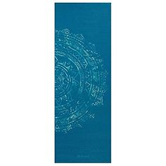 Gaiam Yoga Mat - Classic Print Thick Non Slip Exercise & Fitness Mat for All Types of Yoga, Pilates & Floor Workouts x x Mandala Yoga, Floor Workouts, Yoga At Home, Types Of Yoga, Mat Exercises, Best Yoga, Latex Free, Yoga Fitness, Meditation