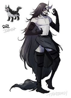 262.Mightyena+by+tamtamdi.deviantart.com+on+@DeviantArt