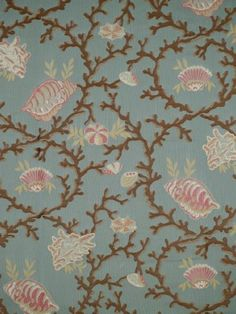 DecoratorsBest Discount Fabric and Wallpaper Online Store Beach Fabric, Beach House Decor, Home Decor, Nautical Home, Wallpaper Online, Fabric Design, Quilts, Pillows, Pattern