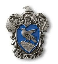 Show your colors and support your Hogwarts house! Ravenclaw metal lapel pin                                                                                                                                                      More