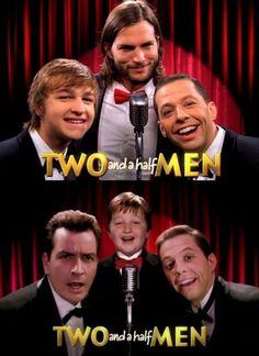 Ashton Kutcher vs. Charlie Sheen. lol