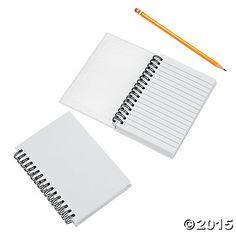 DIY Notebooks - Oriental Trading