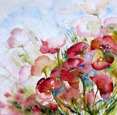 flowers #watercolor jd