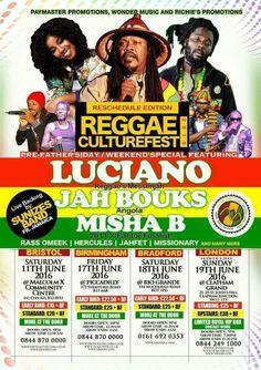 Reggae Culturefest Luciano