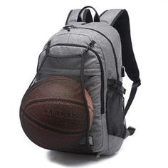 Best Price Outdoor Men& Sports Gym Bags Basketball Backpack School Bags For Teenager Boys Soccer Ball Pack Laptop Bag Football Net Gym Bag Gym Backpack, Travel Backpack, Sling Backpack, Travel Bags, Rucksack Bag, Notebook School, Teenager Boys, Sport Basketball, Soccer Ball