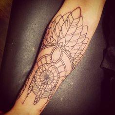http://tattoo-ideas.us/wp-content/uploads/2014/01/Feathers-Tattoo.jpg Feathers Tattoo On Arm #Armtattoos, #BlackInk