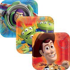 Toy Story Dessert Plates 8ct