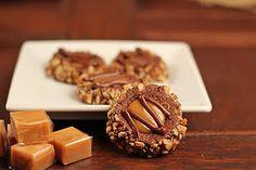 Caramel Chocolate Thumbprints