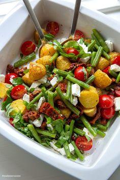 Clean Recipes, Veggie Recipes, Healthy Recipes, Yummy Recipes, Feta, Good Food, Yummy Food, Catering Food, No Cook Meals