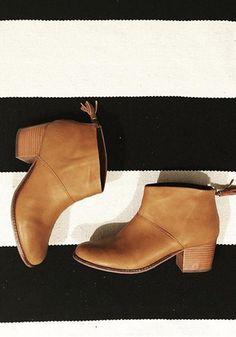 This season's fashion essential: the Leila Bootie.