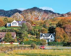 20 of the Best Villages to Visit in Scotland | Chasing the Long Road Scotland Vacation, World Map Wall, Fishing Villages, Medieval, Remote, Good Things, Mountains, Mansions, House Styles