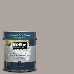 1-Gal. Home Decorators Collection Smoked Tan Satin Enamel Interior Paint-775401 at The Home Depot