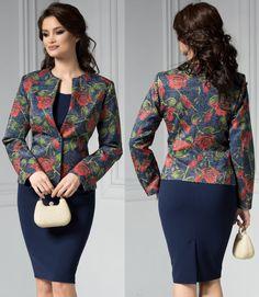 Sacou dama de ocazie bleumarin cu trandafiri rosii Costume, Blazer, My Style, Jackets, Women, Fashion, Down Jackets, Moda, Fashion Styles
