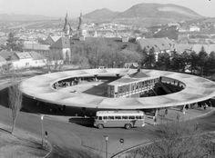 Bus station, Eger, Hungary Janos Dianoczky