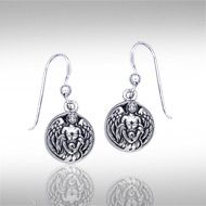 Angels watch over us, guide us, and serve as the messengers of God, filling our lives with hope and inspiration. The Hollow Ball with Angel Silver Earrings are intricately crafted with Celtic inspiration to capture the deep significance of the angel.