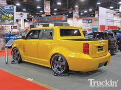 Custom Yellow Scion