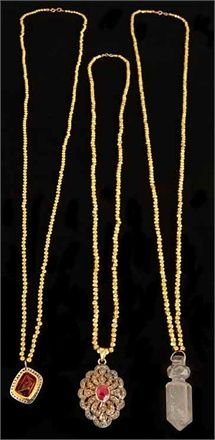 Jade Jagger I Love Jewelry, Women's Jewelry, Jewlery, Jewelry Accessories, Jewelry Design, She's A Rainbow, Jade Jagger, Gold Necklace, Pendant Necklace