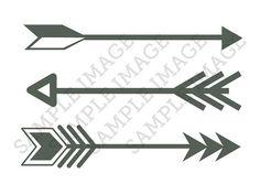 Small Tiny Arrows Fake Temporary Tattoos (Set of Three 3) on Etsy, $10.00