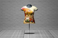 Female T-shirt mannequin mockup is the latest freebie from Massdream Studio. Here and now you can present your latest