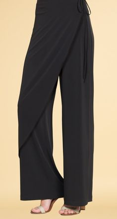 Easy Pull-on Modern Soft Knit Wrap Pant Items marked FINAL SALE are not returnable for refund or exchanges. Promotional Offers & Discount Codes cannot be applied on Final Sale Products. SALE $49.25 |