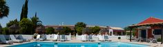 Quinta da cebola vermelha, is located in the hard of the Algarve and is 10 min. from the beach ( Vilamoura ) the boutique hotel has 9 rooms with and a large garden plus pool ( heated ). Hotel Algarve, Heated Pool, Portugal, To Go, Beach Boutique, Mansions, House Styles, Places, Room