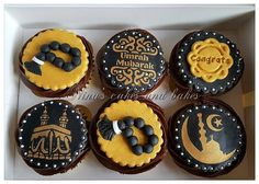 Cupcake Frosting, Fondant Cupcakes, Vanilla Cupcakes, Cupcake Cookies, Vanilla Frosting, New Year's Cupcakes, Themed Cupcakes, Wedding Cupcakes, Eid Sweets