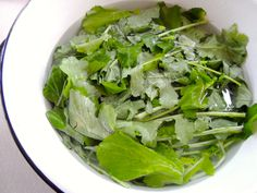 """Quick """"Fried"""" Turnip Greens: if you want a big old mess of greens in less than fifteen minutes that are delicious, this post is for you! How To Cook Turnips, Cooking Tips, Cooking Recipes, Turnip Greens, Chopped Salad, Side Dishes Easy, What To Cook, Southern Recipes, Food Plating"""