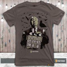 Camiseta Hitchcock The Birds