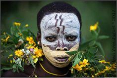 Surma, Peuple de l'Omo, Éthiopie - Suri, people of the Omo, Ethiopia