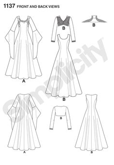 1137 - Costumes - Simplicity Patterns