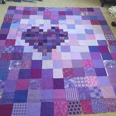 New Patchwork Quilt Heart Scrap Ideas Quilt Baby, Rag Quilt, Patch Quilt, Scrappy Quilts, Patchwork Quilting, Quilt Top, Heart Quilt Pattern, Quilt Block Patterns, Patchwork Patterns