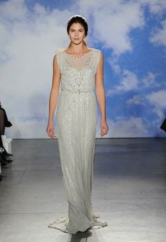 Jenny Packham Bridal Spring 2015 Alicia Wedding Dress | www.onefabday.com