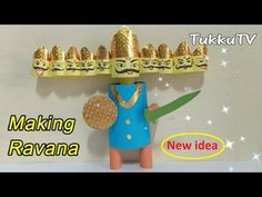 Dussehra Special: How to Make Ravana at Home Rocket Craft, Diwali Food, Make It Simple, Easy Crafts, Paper Crafts, Make It Yourself, Club, Activities, Youtube