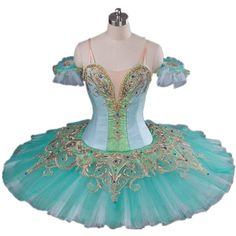 Hight Quality and Stunning Designs Professional Classical Stage... ❤ liked on Polyvore featuring costumes, ballerina, ballet, ballet costume, costume, dance, ballet costumes, ballerina halloween costume, green halloween costume and green costumes