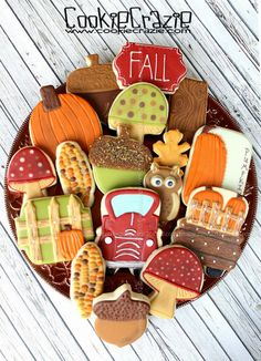 Autumn in the Country Cookie Collection