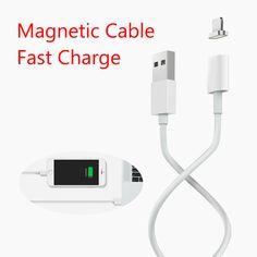 2.4a כבל micro usb cable עבור iphone 6 6s מגנטי 7 בתוספת 5S 5 אנדרואיד samsung טלפון נייד נתונים טעינת מטען מגנט כבל