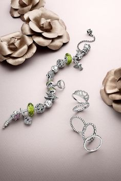 Enchanted fairy tale jewelry pieces to create your own Magnificent Kingdom collection. #PANDORA #PANDORAbracelet #PANDORAring