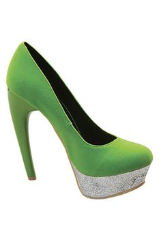 love the green and glitter