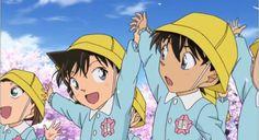 theyre so cute when shinichi n ran were in kindergarden:)