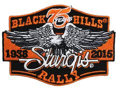 2015 Sturgis Rally - Classic Eagle Patch, $5.97 (http://store.bikerornot.com/2015-sturgis-rally-classic-eagle-patch/)