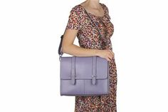 Leather Bags - Times Table in Lilac Leather from Clarks shoes