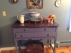Old buffet redone by Kim n