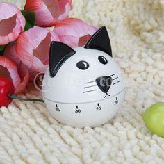 cat kitchen timers | Cat kitchen timer | Tick Tock Timers | Pinterest