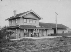 Chatsworth Railroad station  Water and Power Associates. Chatsworth is just west of Northridge, Ca.