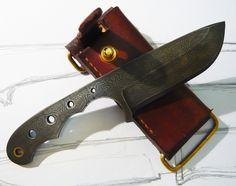 EDC damascuss knife