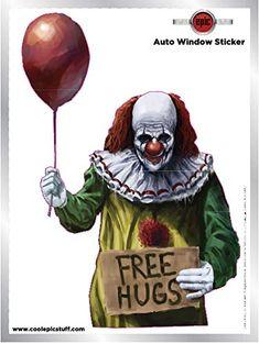 vintage dolls creepy - Google Search Red Balloon, Balloons, Clown Horror, Creepy Carnival, Free Hugs, Window Stickers, Clowns, Vintage Dolls, Joker