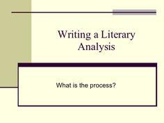 Literature Examples